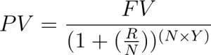 Present Value Equation for Rental Analysis