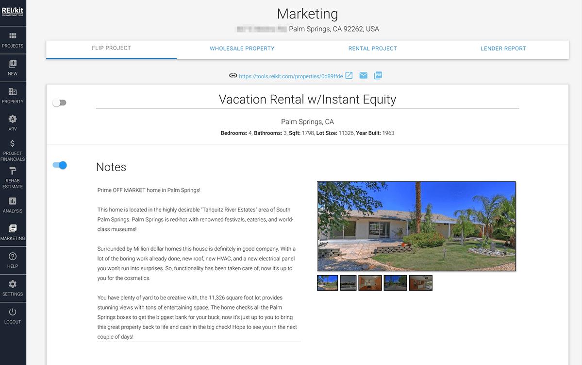 House Flip Marketing