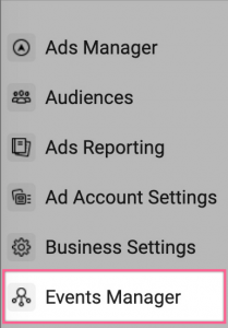 FB access Events manager