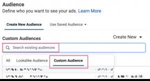 audience custom